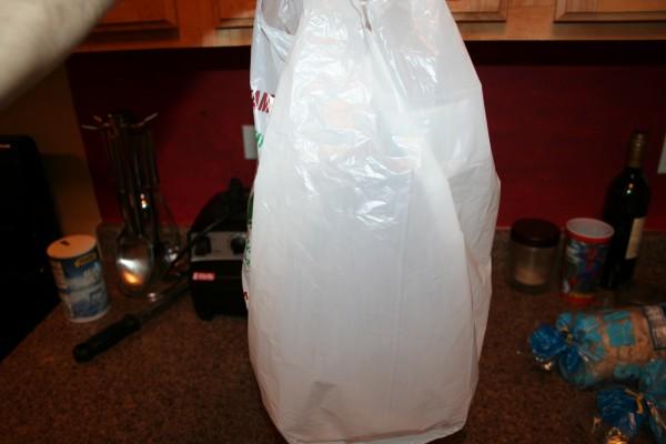 ooh, a plastic bag