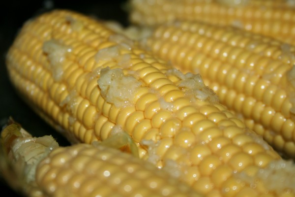 Oven Roasted Corn